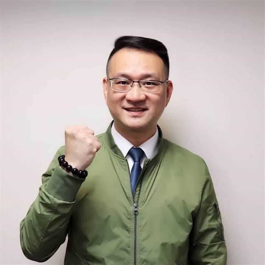 蔡英文總統連任辦公室發言人阮昭雄。(取自阮昭雄臉書)