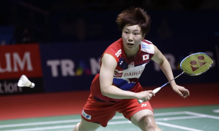 山口茜在韓國公開賽女單第一輪打到一半就退賽。(資料照/美聯社)