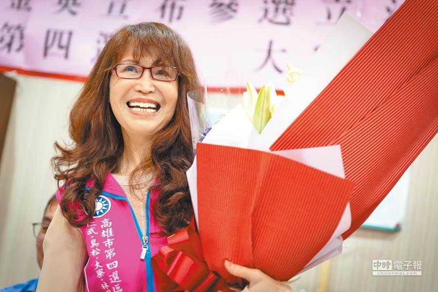 北漂媽媽潘金英今年四月曾表態參選高雄市立委,但未獲國民黨提名。(資料照/袁庭堯攝)