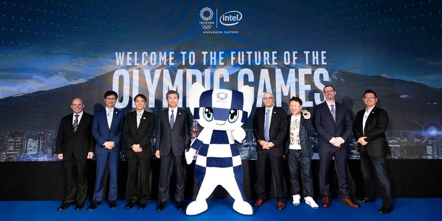 英特爾與合作夥伴共同宣布將在2020東京奧運中導入的嶄新技術。(摘自Intel官網)