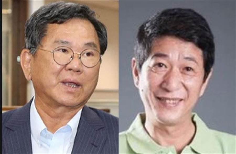 嘉義縣山區立委選戰,陳明文對決林國慶(右)。(資料照合成)