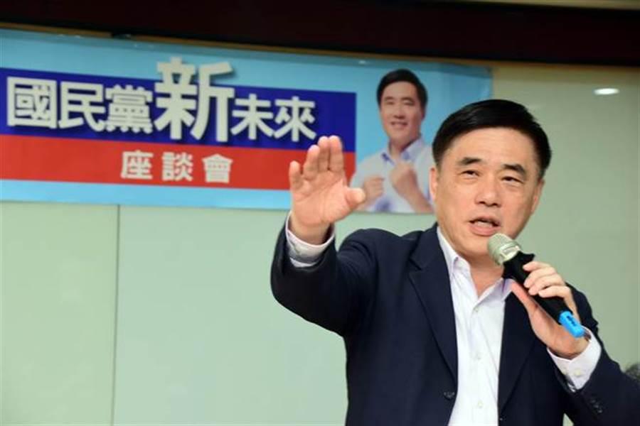 國民黨副主席郝龍斌在《少康戰情室》承認,當初31大老登報連署適得其反,反讓郭台銘機動退黨 (圖/本報資料照)