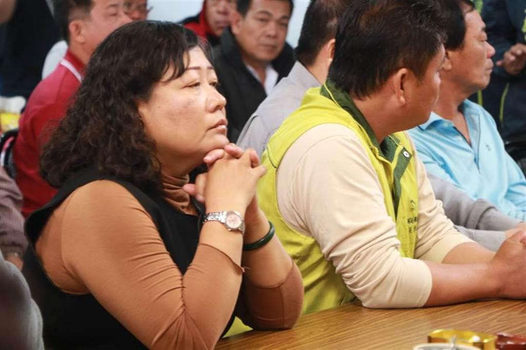 廣大興案馬尼拉判決出爐,洪慈綪說:「尊重判決,但政府能落實保護漁民義務嗎?」(謝佳潾攝)