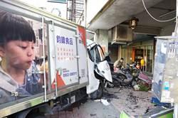 貨車駕駛恍神台中連環撞 釀1死、9歲童重傷