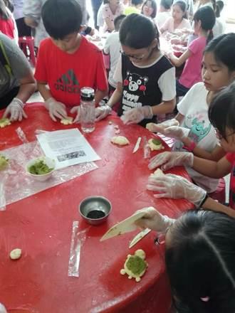 六龜大寮校際聯合 米製烏龜造型菠蘿包