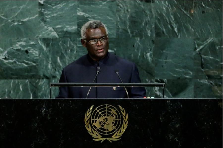 總理蘇嘉瓦瑞原定與美副總統彭斯在聯合國大會時討論合作發展案,但因台索斷交,此一會談已遭彭斯拒絕。圖為蘇嘉瓦瑞。(路透社)