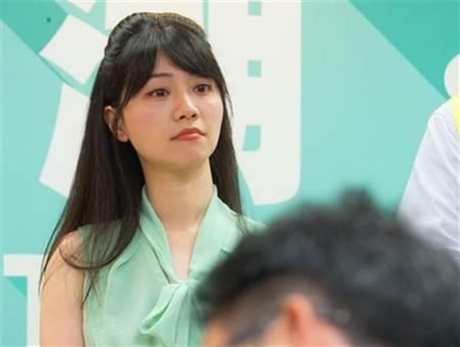 民进党台北市议员高嘉瑜。(本报系资料照)