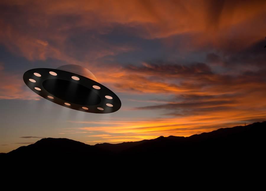 UFO影片是真的?美國海軍認了(示意圖/達志影像)