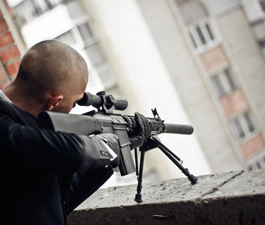 CIA狙擊手不願分手 運用所學殺前女友(示意圖/達志影像)