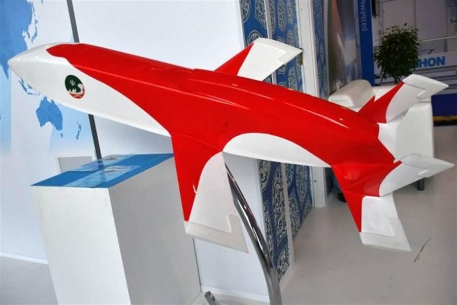 伊朗無人機Mobin,其實更像一款巡弋飛彈。(圖/defenseworld)