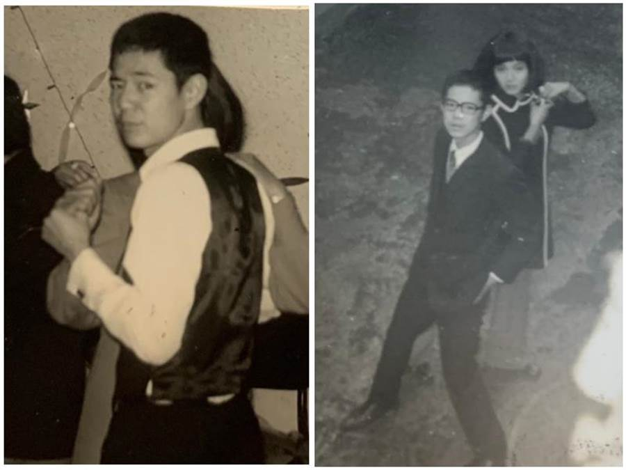 巴戈與謝玲玲求學時期曾一起跳過舞。巴戈提供