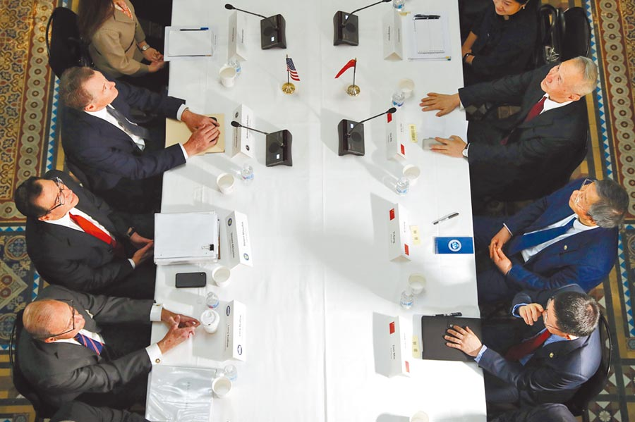副部级谈判结束后,中美高层级谈判代表可能在一周半后会面。图/美联社资料照片