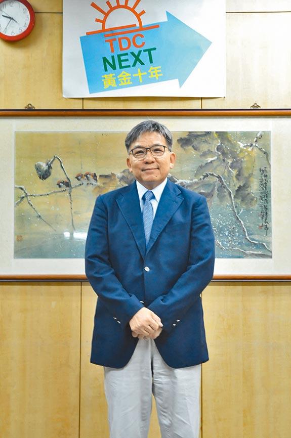 台灣鑽石董事長藍敏雄。圖/業者提供