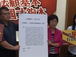 打擊反滲透 基進黨合作民進黨起草法案