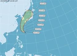 塔巴颱風生成 對台灣暫無威脅
