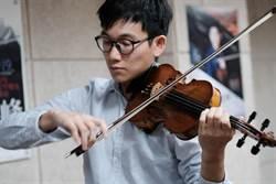 小提琴家陳瑾瑒返台 獨立思考很重要
