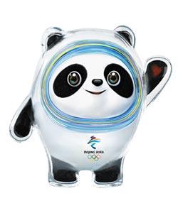 冰墩墩 雪容融 北京冬奧殘奧吉祥物