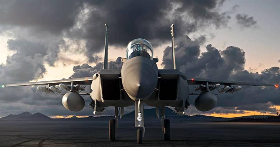 F-15EX「先進鷹」戰機。(波音)