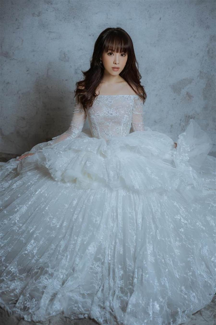朱蕾安將披婚紗。CH WEDDING提供