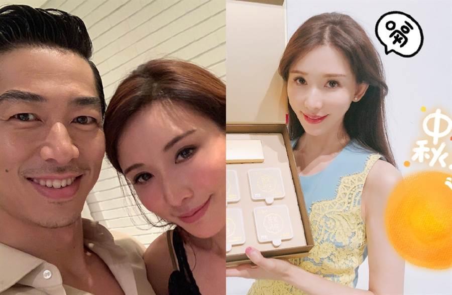 林志玲和老公Akira先前突然宣布缺席《秋晚》。(圖/翻攝自林志玲、林志玲工作室微博)