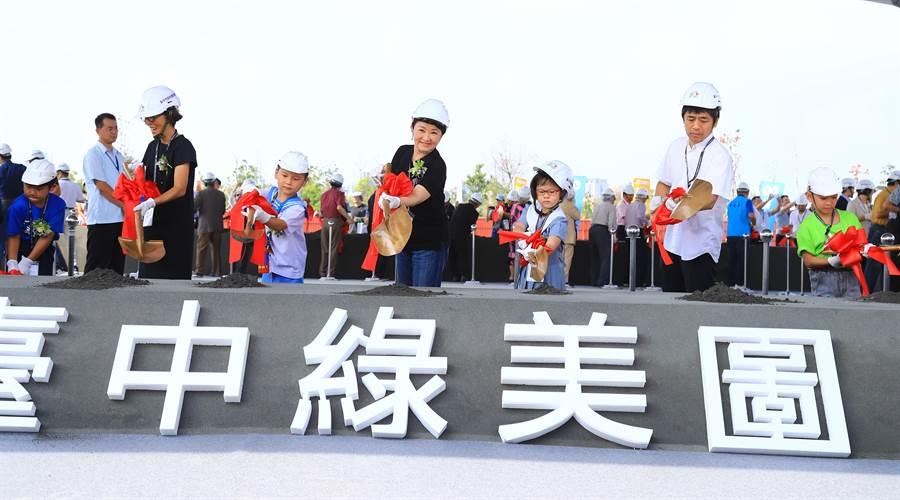 台中市長盧秀燕上任後全力衝建設,被稱為「動工市長」。(盧金足攝)