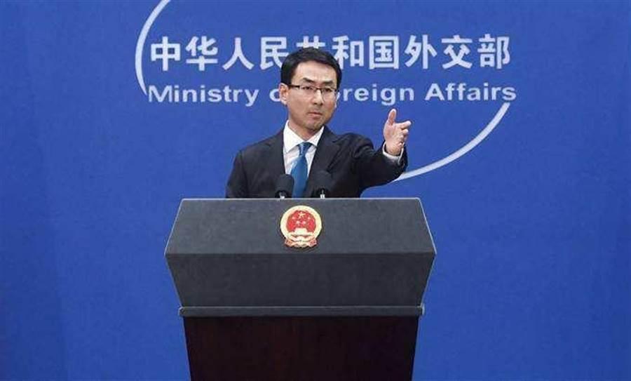 中國外交部發言人耿爽。(新華社)