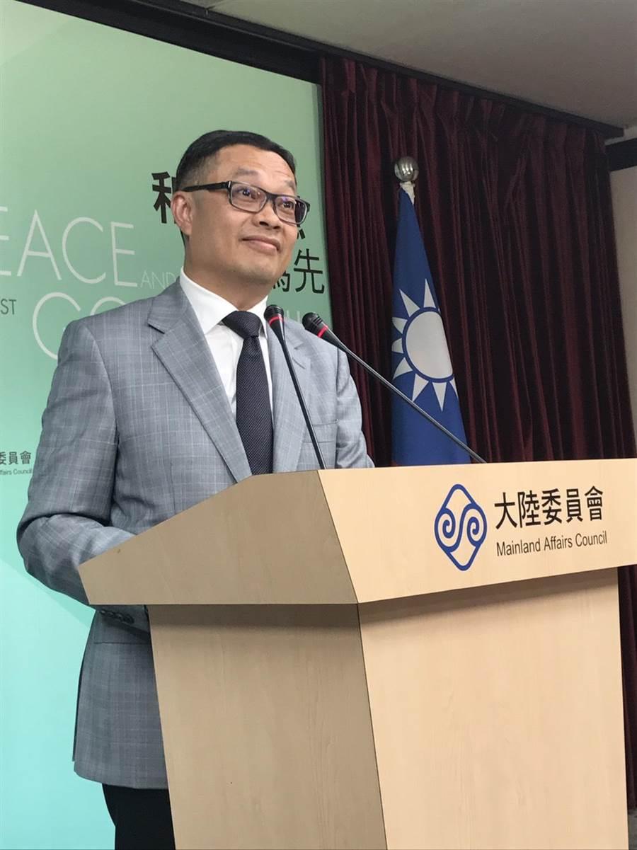 陸委會副主委陳明祺。(圖/本報檔案照片)