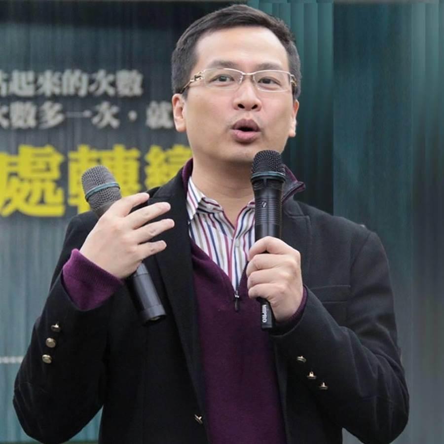台北市議員羅智強。(摘自羅智強臉書)