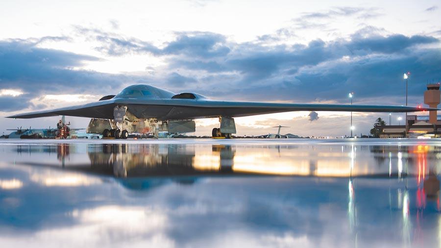 美軍B-2轟炸機。(取自美國空軍官網)