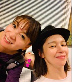 保田圭&徐若瑄相見歡 20年閨蜜成媽友