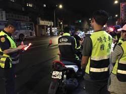 新店警與環保局夜間稽查 半月通報115台改裝噪音車