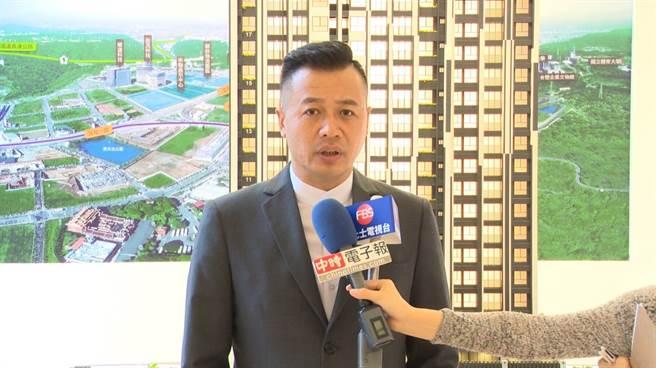 詠勝市中欣總經理 李志傑