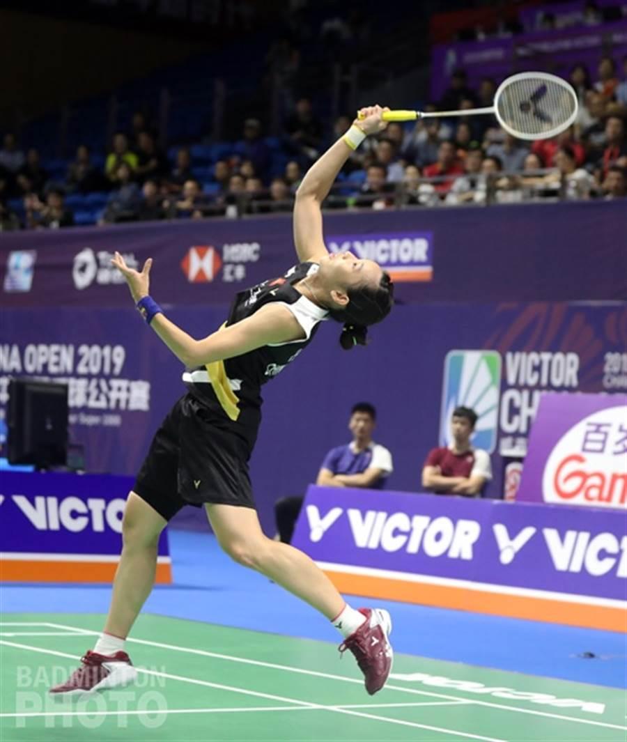 戴資穎一再讓支持她的球迷看到她在球場上的神奇魔力。(Badminton Photo提供/陳筱琳傳真)