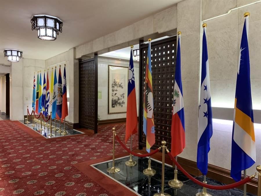 外交部預計一點召開記者會宣佈與吉里巴斯斷交。(楊孟立攝)