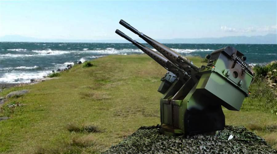 海軍採購三套中科院研發的20公厘近程自動防禦系統。(翻攝中科院官網)