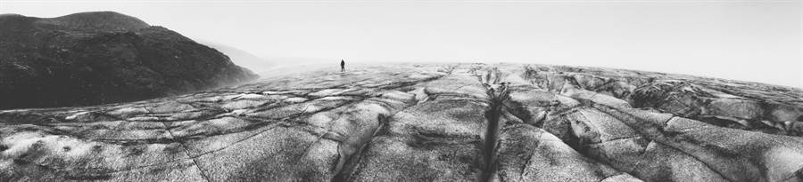 Austin Mann透過iPhone 6在冰島拍下的全景照片。(摘自The Verge,Austin Mann拍攝)
