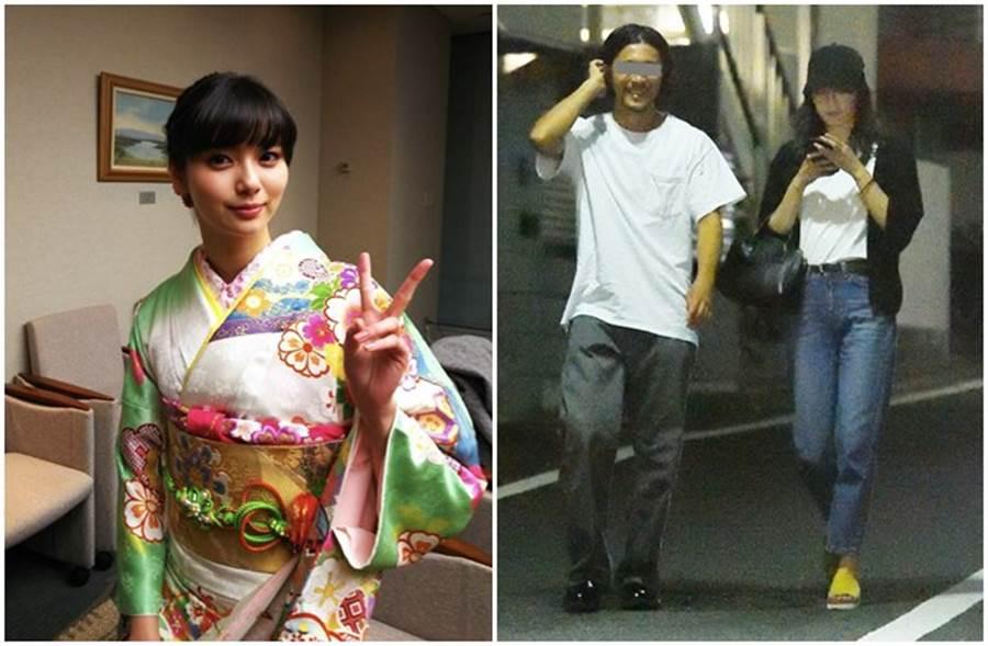 新川優愛夫婦日前被媒體捕捉到上街身影。(取自新川優愛推特、日網)