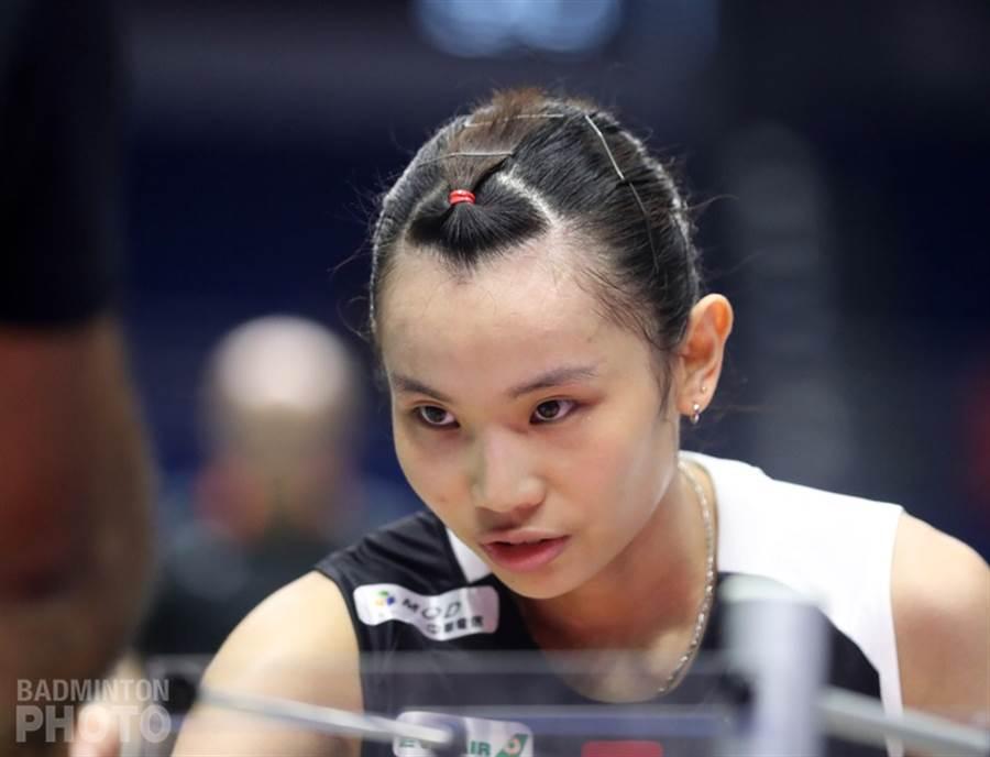 戴資穎在中國公開賽8強遭遇布莎南。(資料照/badminton photo提供)