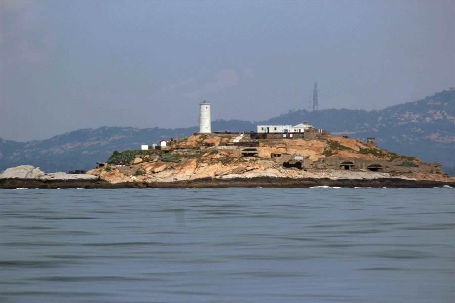 金門北碇海域的海象不佳,常有大陸船隻遇險。(李金生攝)