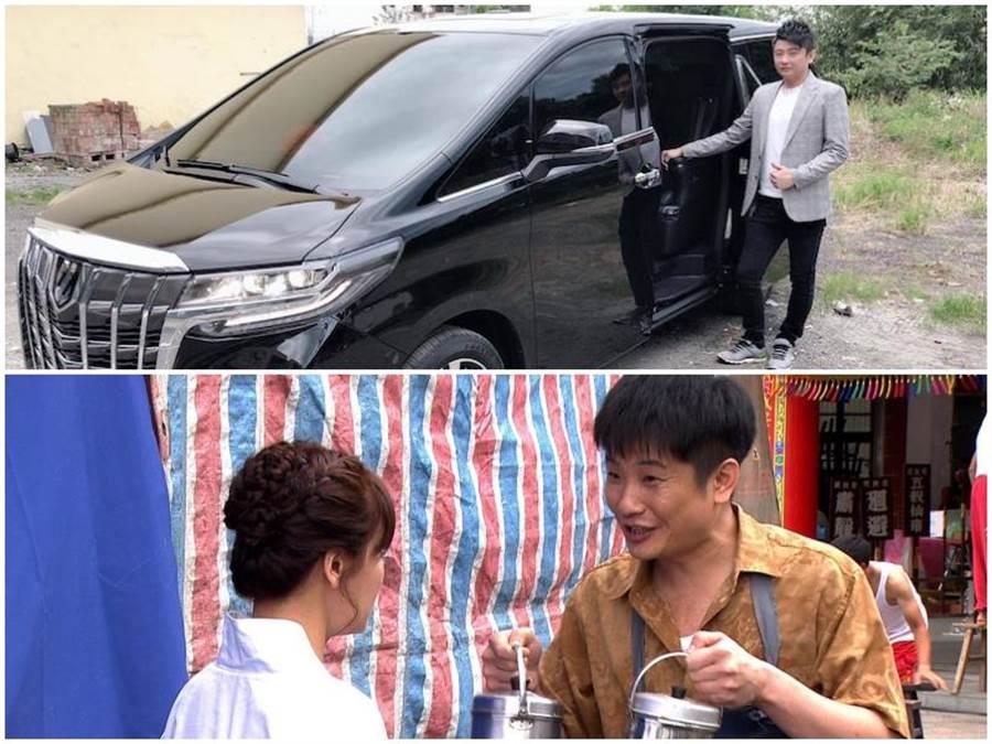 蔡佳麟入圍金鐘新人獎,老婆買新車犒賞他。民視提供