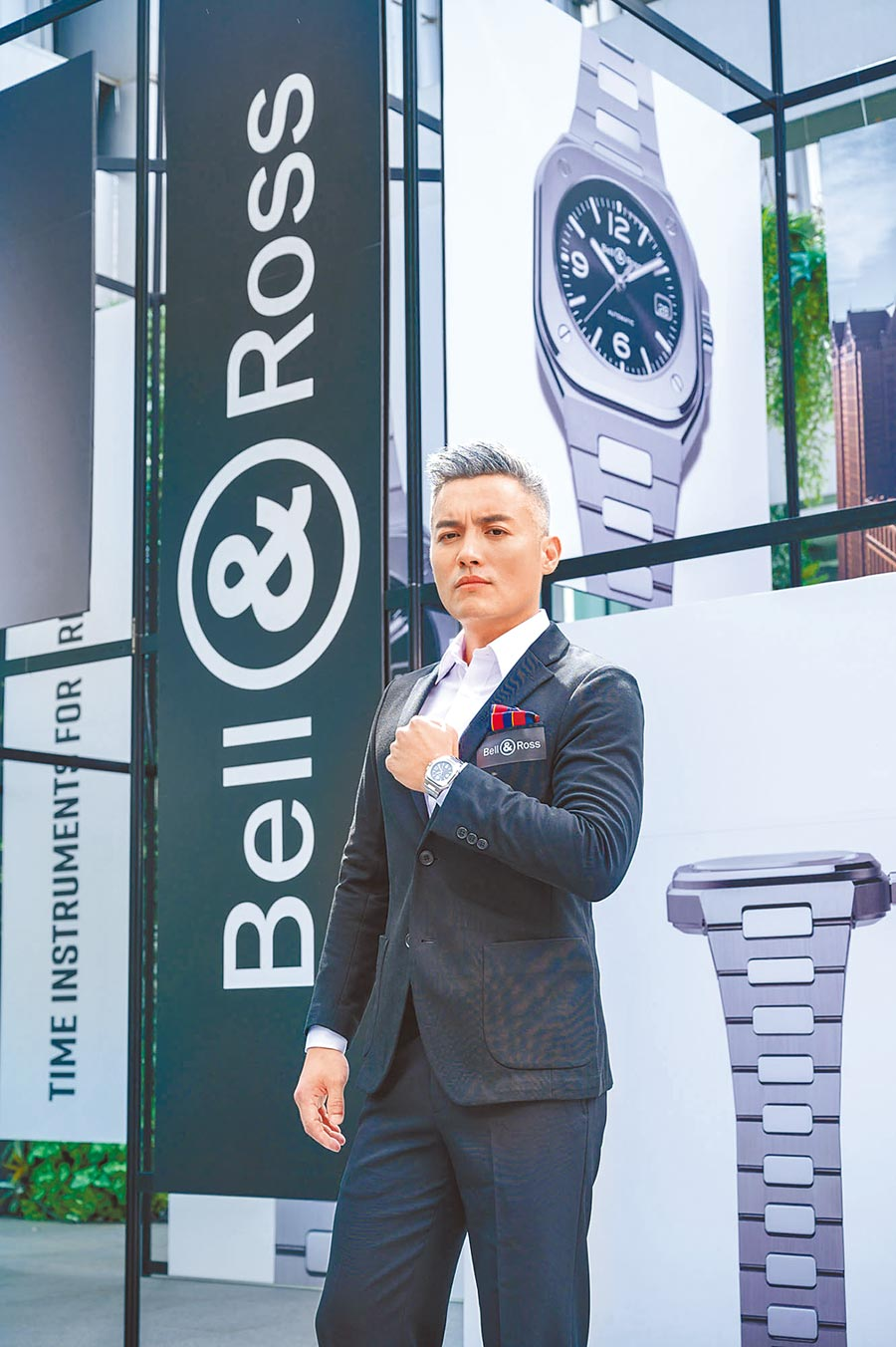 范逸臣出席Bell & Ross新款腕表BR05發布會,並分享近況,他忙著參加超馬、拍電影,還寫書,是豐收的一年。(Bell & Ross提供)