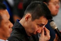 羽球名將李宗偉抗癌 談到33次電療哭了