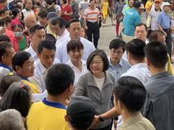 國際局勢飄盪 蔡英文:不輕易退讓 緊守台灣尊嚴