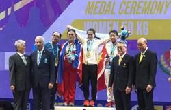 舉重世錦賽》郭婞淳挺舉140公斤破世界紀錄 逆轉奪雙金