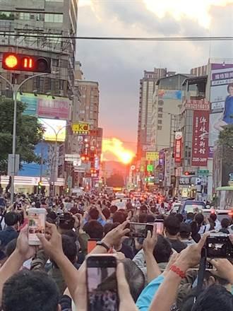 上千粉絲追懸日  中市3天百名警力守護人車安全