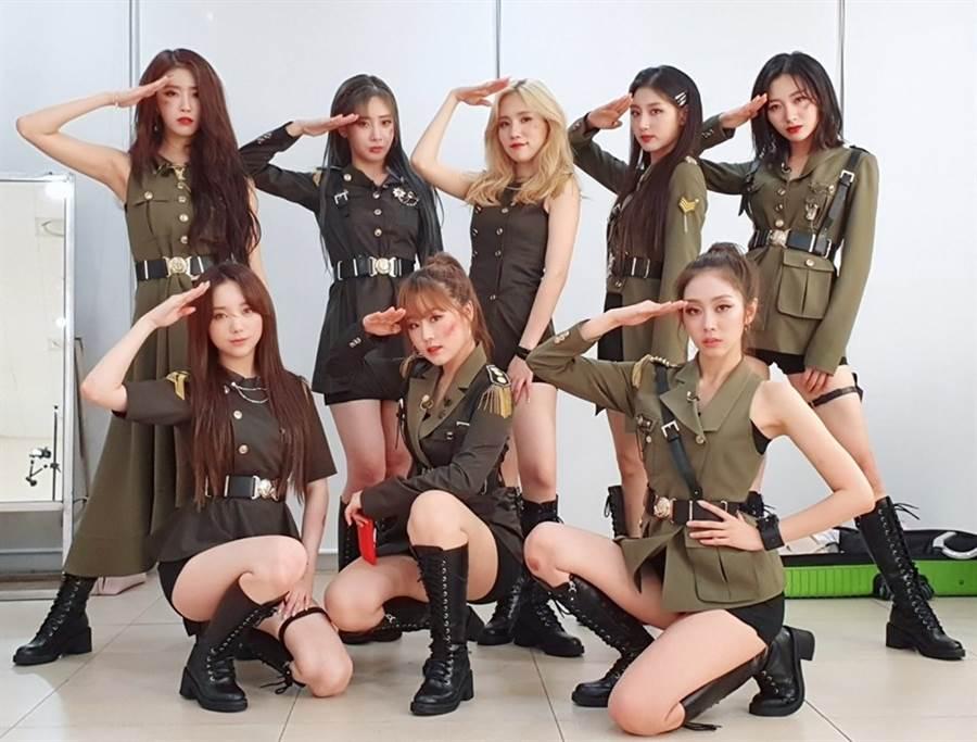 韓國女團LOVELYZ參加綜藝競演節目《Queendom》卻連兩集遭到噓爆。(圖/翻攝自LOVELYZ推特)