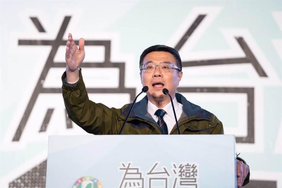 民進黨主席卓榮泰今接受電視專訪表示,2020大選一定會拜託賴投入選舉,至於扮演的角色是以後的事情。(取自卓榮泰臉書)