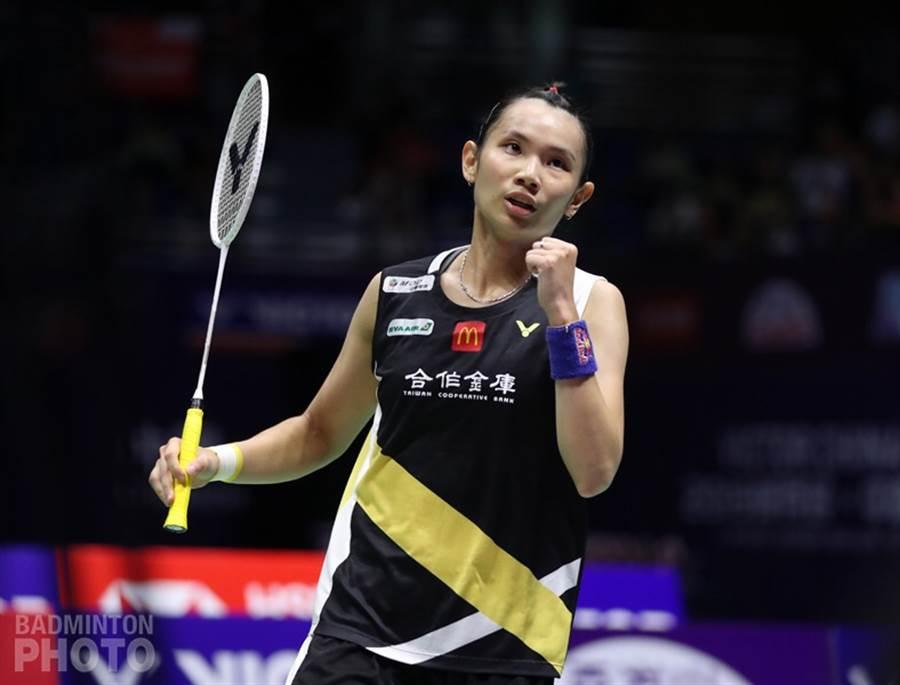 戴資穎辛苦擊敗陳雨菲,下周將重登球后。(badminton photo提供/李弘斌傳真)