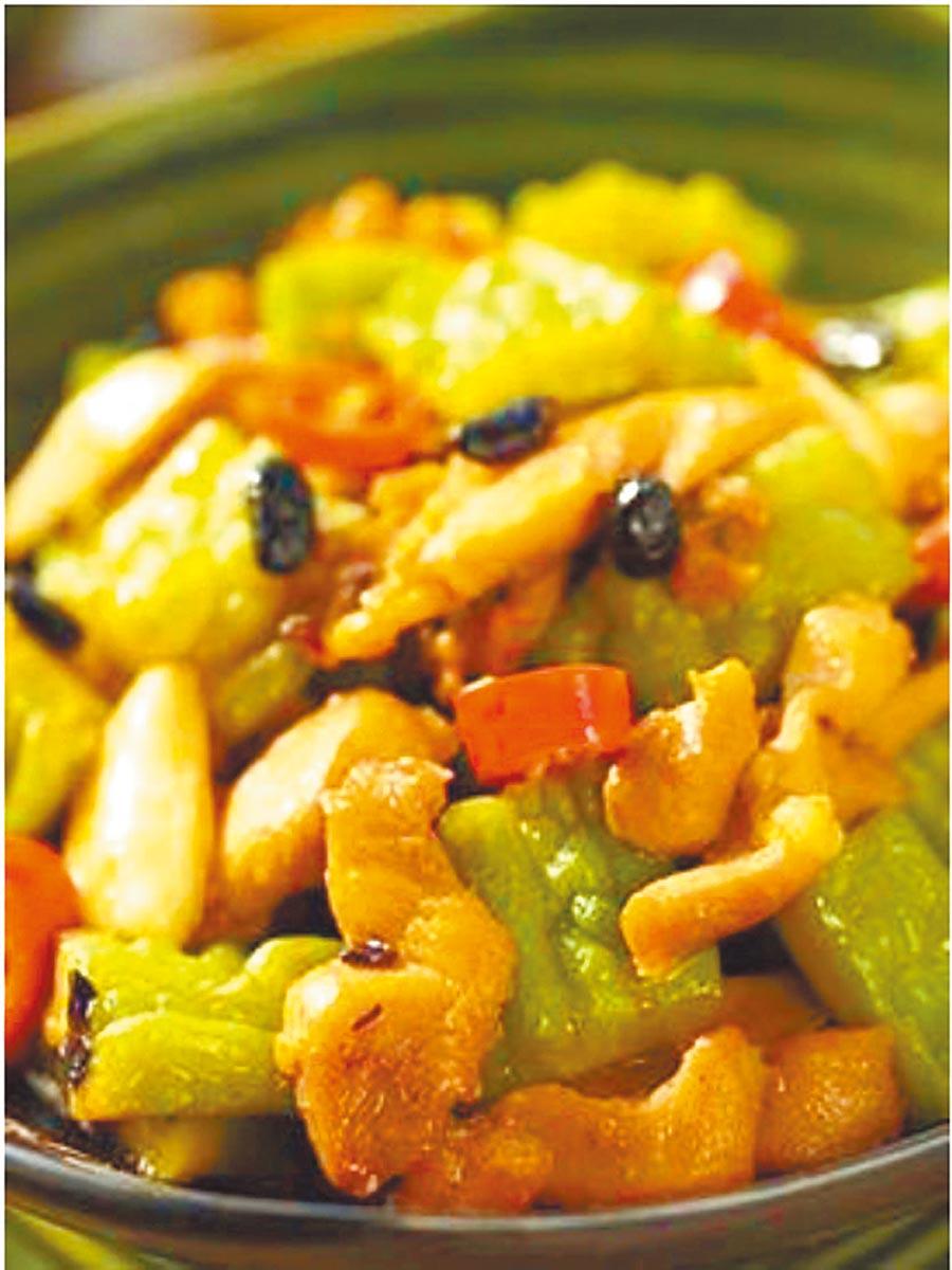 豆豉苦瓜的地位在毛澤東的菜單上如紅燒肉一樣穩固。(本報系資料照片/美國沙朗大師頂級鍋具提供)