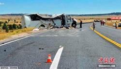 陸駐美使館公布猶他州車禍情況:陸客4死26傷